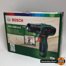 Bosch Bosch PSR 1200 LI-2 accuboor/schroef