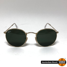 Ray-Ban Ray-ban RB3447 Round Metal zonnebril mt 47/21