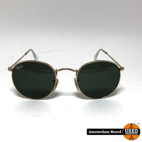 Ray-ban RB3447 Round Metal zonnebril mt 47/21
