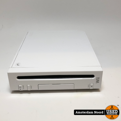 Nintendo Wii Console Wit
