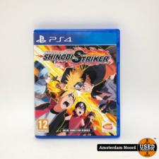 PS4 Naruto to Boruto Shinobi Striker