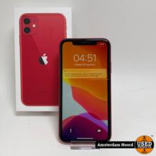 Apple Apple iPhone 11 64GB Red (Nieuwstaat)