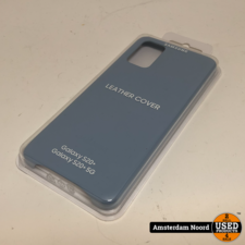 Samsung Samsung Leather Cover - Samsung Galaxy S20 Plus