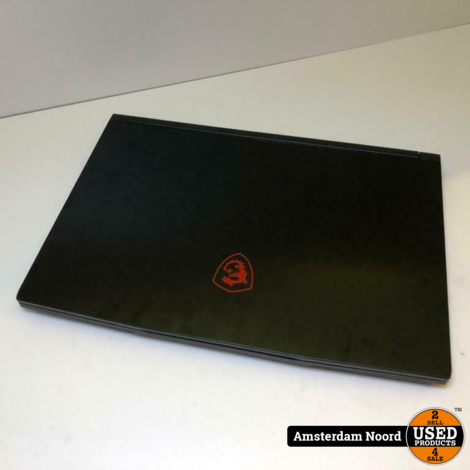 MSI GF63 9SC-203NL -15.6FHD/i7-9750H/16GB/1256GB/GTX1650/W10 Gaming Laptop - Nieuwstaat