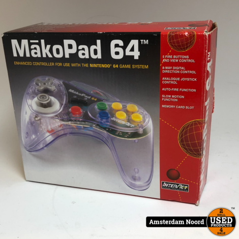 Nintendo 64 MakoPad Controller