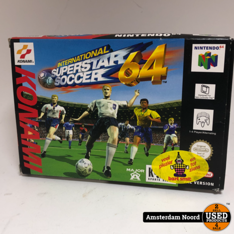 N64 International Superstar Soccer 64