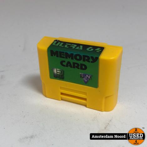 Ultra64 Memory Card 1MB