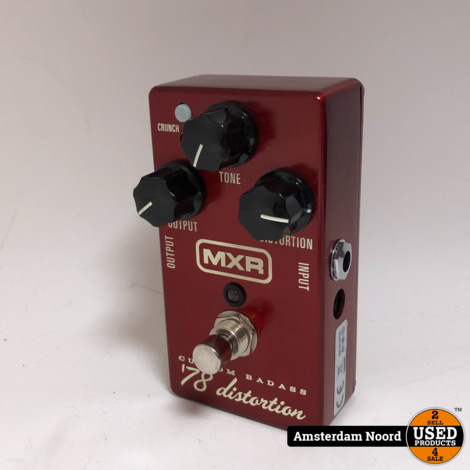 MXR M78 Custom Badass 78 Distortion Effectpedaal