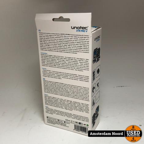 Unotec XTR PRO V 4K Action Camera