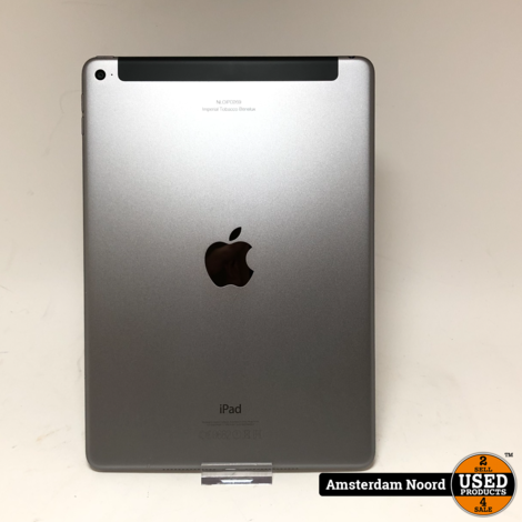 Apple iPad Air 2 WiFi + Cellular 4G 128GB Grijs