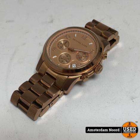 Michael Kors MK5128 Runway Horloge