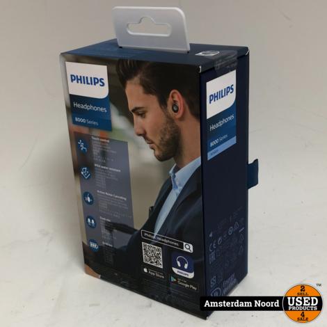Philips TAT8505BK Bluetooth Noice Cancelling (Nieuw)