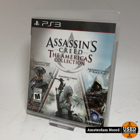 PS3 Assassin's Creed: The Americas Collection