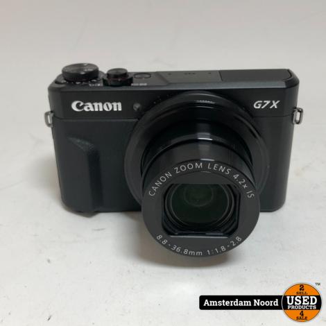 Canon Powershot G7X Mark II Camera