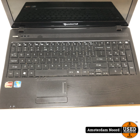 Packard Bell Easynote Laptop - 15.6/AMD-P360/4GB/500HDD/W10