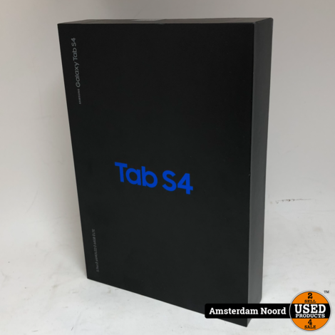 Samsung Galaxy Tab S4 64GB Wifi + LTE Cellular (Nieuwstaat)