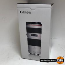 canon Canon EF 70-200mm F/4L USM (Nieuwstaat+Bon)