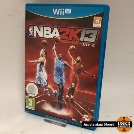 Nintendo Wii U NBA 2K13