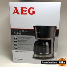 AEG AEG KF3300 - Koffiezetapparaat Zwart (Nieuw)