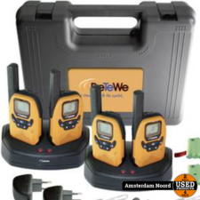 DeTeWe Outdoor 8000 Quad Case walkie talkie