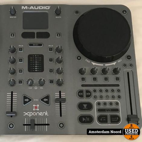 Torq Xponent M-Audio DJ controller