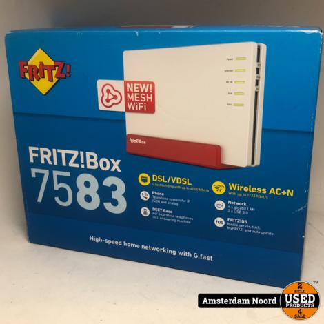 Fritz!Box 7583  AVM-router (Nieuw)