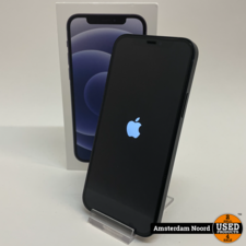 Apple Apple iPhone 12 128GB Zwart (Nieuwstaat+Bon)