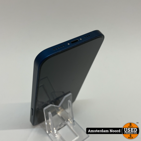 Apple iPhone 12 64GB Blauw (Nieuwstaat)