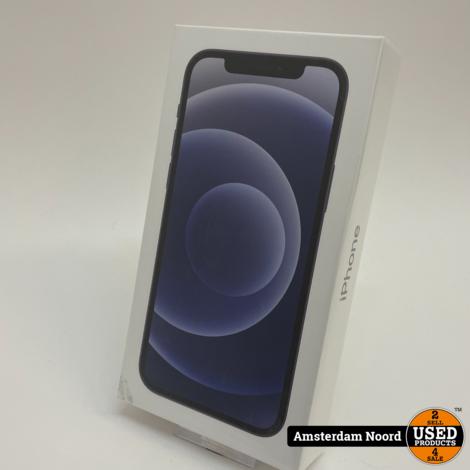 Apple iPhone 12 64GB Zwart (Nieuw)