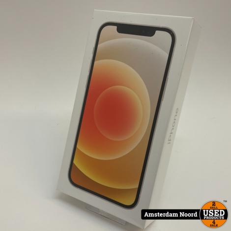 Apple iPhone 12 256GB Wit (Nieuw)