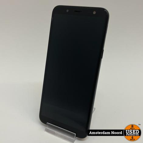 Samsung Galaxy J6 2018 Dual SIM 32GB 3GB Zwart