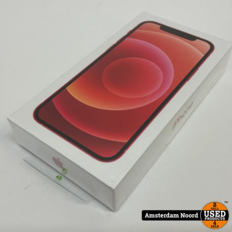 Apple iPhone 12 64GB Red (Nieuw+Bon)