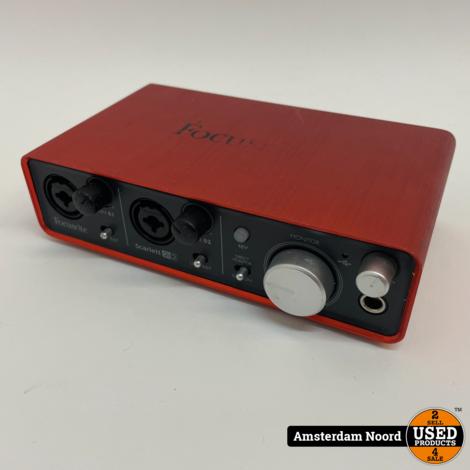Focusrite Scarlett 2i2 Studio (1st Gen) audio-interface