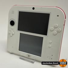 Nintendo Nintendo 2DS Rood/Wit
