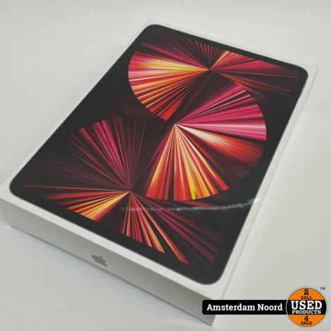 Apple iPad Pro 11-inch (3rd Generation) Wi-Fi + Cellular 128GB Grijs (Nieuw)