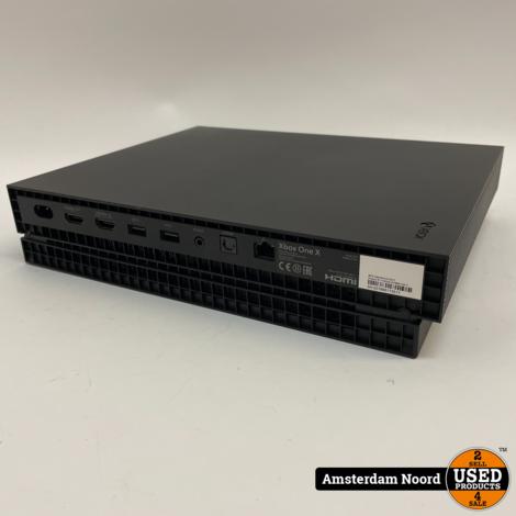 Xbox One X 1TB Console Zwart