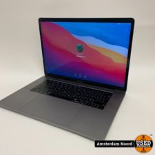 Apple MacBook Pro 2018 Touchbar 15-inch/i7-2.2Ghz/16GB/256SSD/BigSur