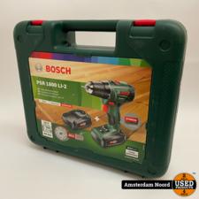 Bosch Bosch PSR 1800 LI-2 Accuboormachine (Nieuw)