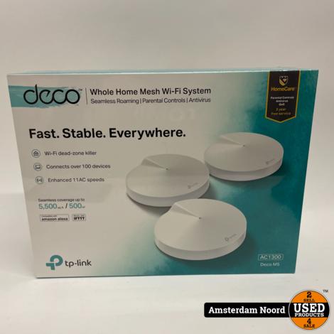 TP-Link Deco M5 (3-Pack) Wi-Fi Range Extender (Nieuw)