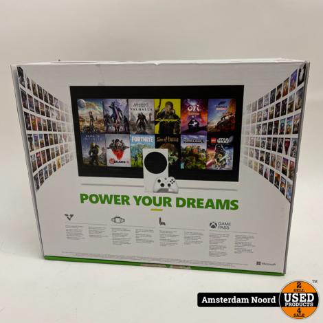 Microsoft Xbox Series S 512GB Digital (Nieuwstaat+Bon)