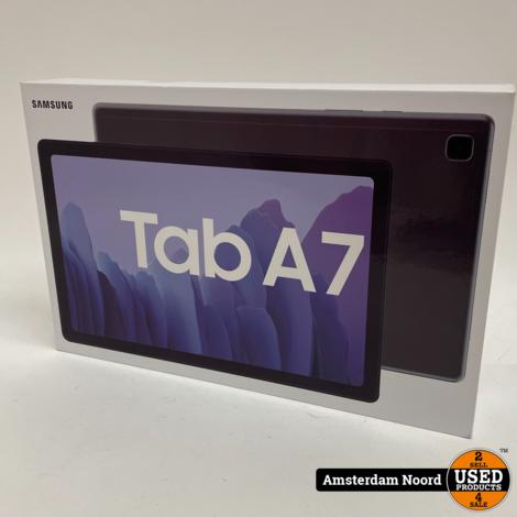 Samsung Galaxy Tab A7 32GB Wifi + 4G (Nieuw+Bon)