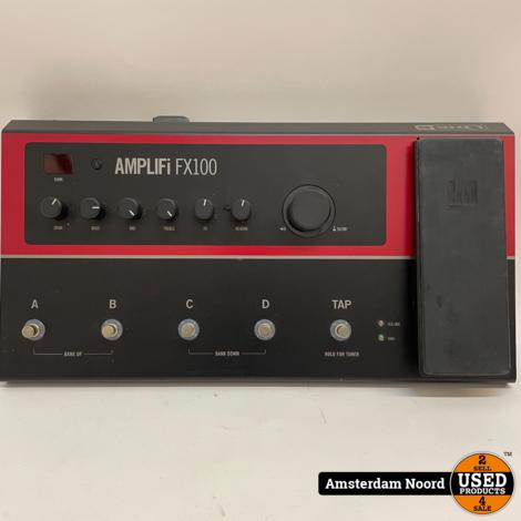 Line 6 AMPLIFi FX100 Multi-effectpedaal met Bluetooth
