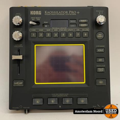 Korg Kaossilator Pro+ KO-1PRO Dynamic Phrase Synthesizer / Loop Recorder