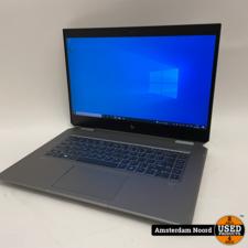 HP HP ZBook Studio x360 G5 Workstation - 15.6-4K/i9-9880H/32GB/1TB-SSD/NV-P1000/WIN10 - (Nieuwstaat)