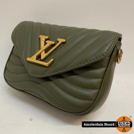 Louis Vuitton New Wave Multi-Pochette Khaki M56471 (Nieuwstaat+Bon)