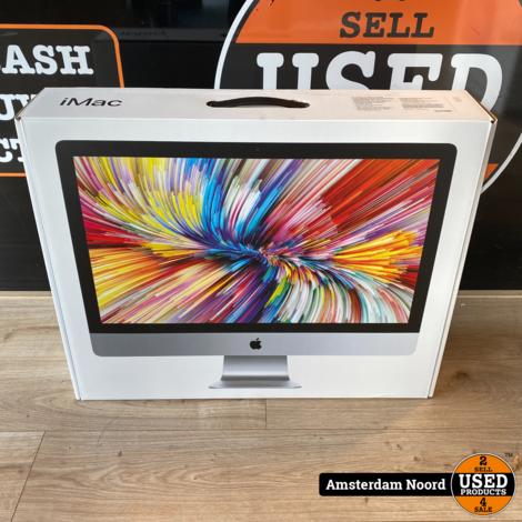 iMac 27-inch 5K 2019 i5-3.0Ghz/8GB/1TB/570X (Nieuwstaat)