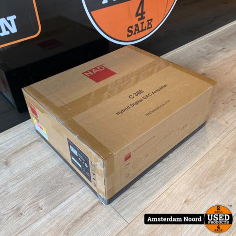 NAD C 368 Hybrid Digital DAC Amplifier (Nieuw+Bon)