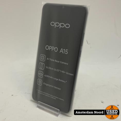 Oppo A15 Smartphone (Nieuw)