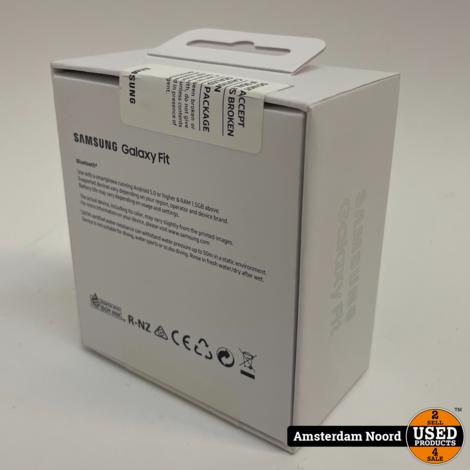 Samsung Galaxy Fit Activitytracker Zwart SM-R370 (Nieuw)