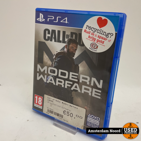 PS4 Modern Warfare